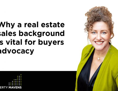 Why a real estate sales background is vital for buyers advocacy