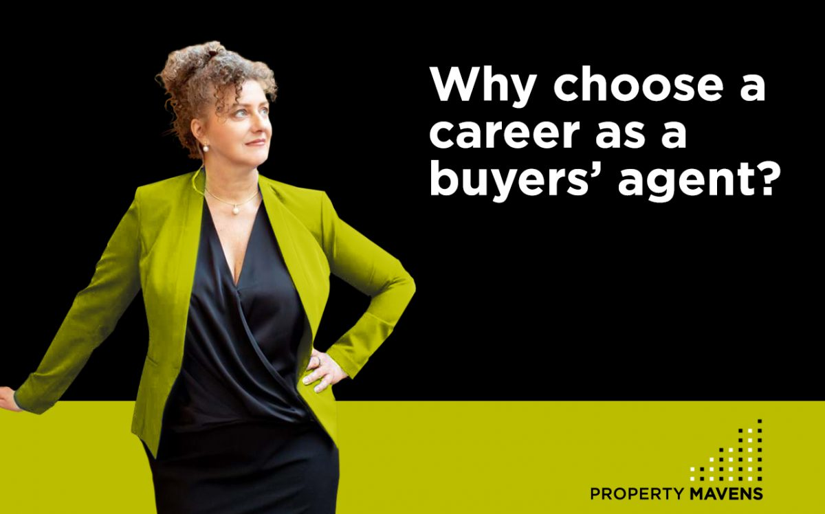 Why choose a career as a buyer's agent?