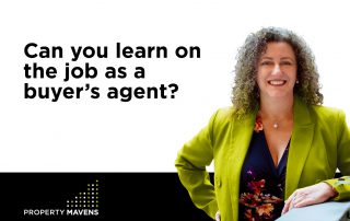 Can you learn on the job as a buyer's agent?