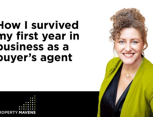 How I survived my first year in business as a buyer's agent