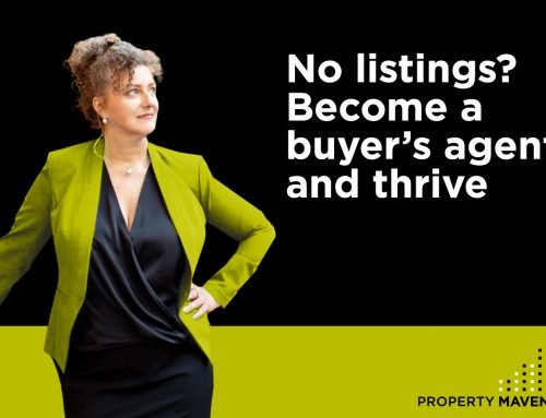 No listings? Become a buyer's agent and thrive