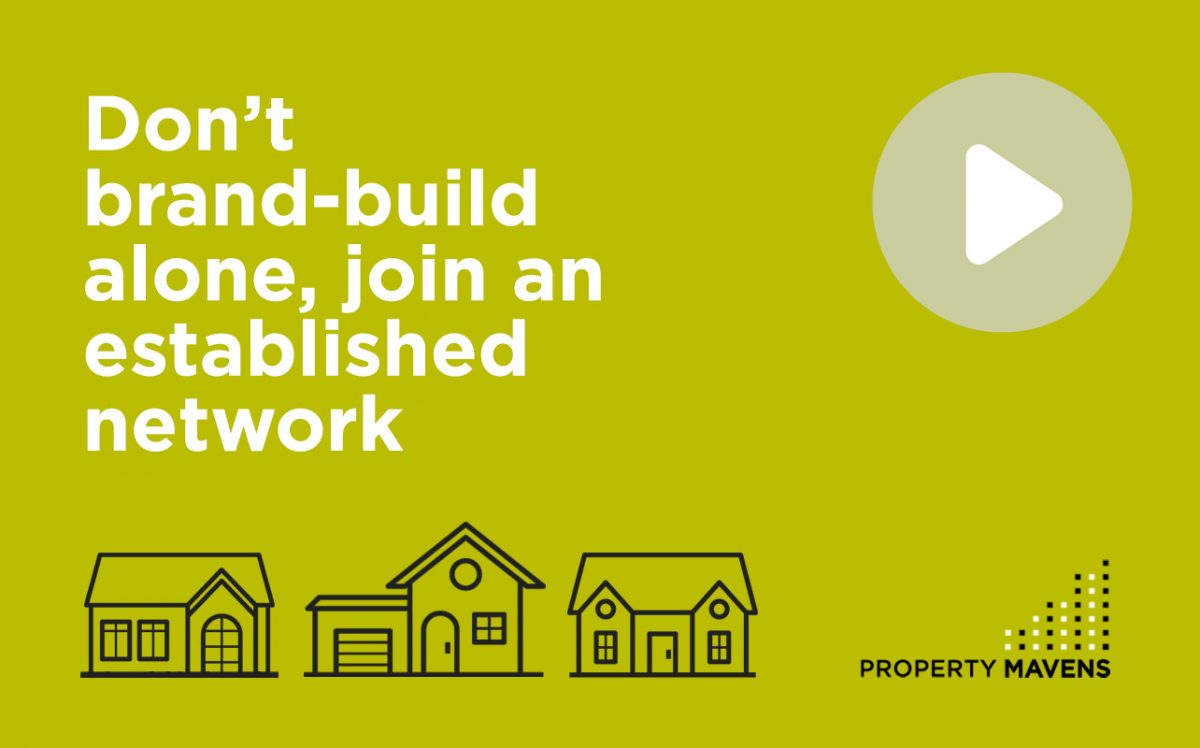 Don't brand-build alone, join an established network