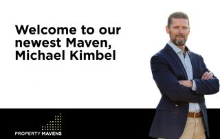 Welcome to our newest Maven, Michael Kimbel
