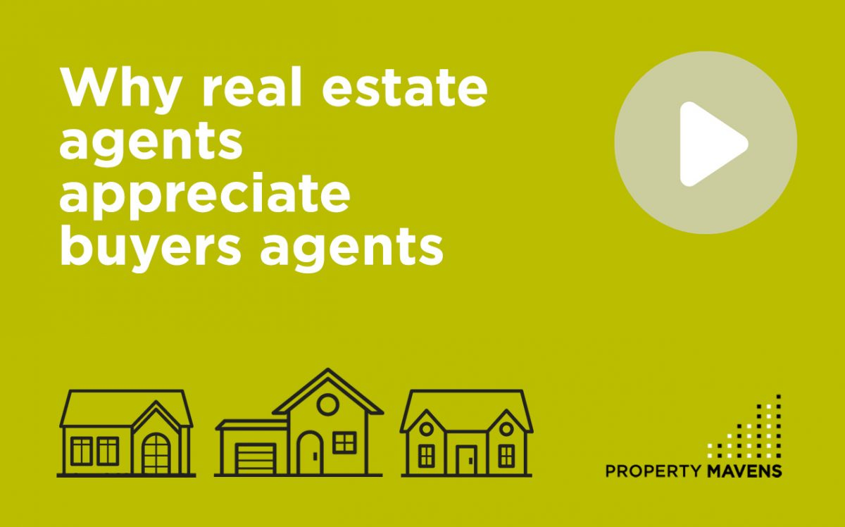 Why real estate agents appreciate buyers agents
