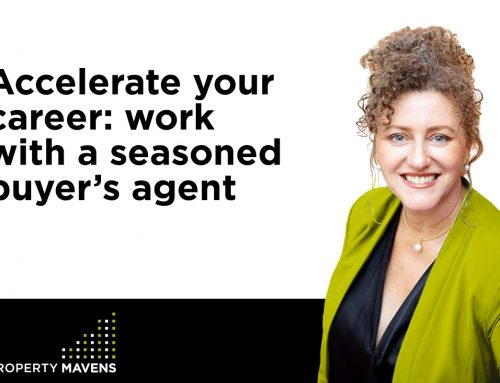 Accelerate your career: work with a seasoned buyer's agent