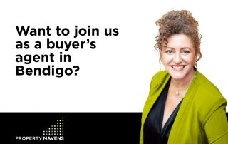 Want to join us as a buyer's agent in Bendigo?