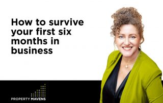 How to survive your first six months in business
